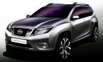 Nissan представит новый Terrano 20 августа в Индии