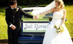 Ах эта свадьба! Лимузин к подъезду