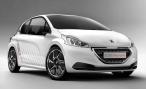 Peugeot публикует первые фотографии 208 Hybrid FE Concept