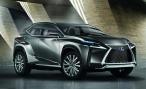 Lexus осваивает новую нишу с помощью концепта LF-NX