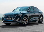 В России открыт прием заказов на купе-кроссовер Audi e-tron Sportback