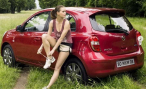 Nissan представил спецверсию Micra ELLE для женщин, следящих за модой