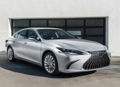 Обновленный седан Lexus ES представили в Китае