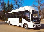 В России стартовало производство нового автобуса на природном газе