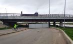 Обещали, но не выполнили. «Мост глупости» в Петербурге не открыли в срок