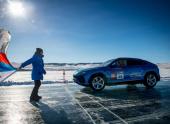 РАФ зарегистрировала рекорд скорости на льду Байкала