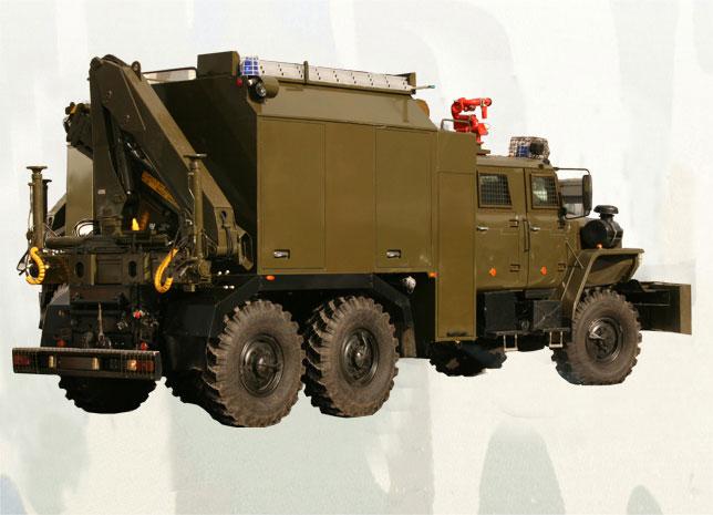 Специальная инженерная машина «Торнадо»