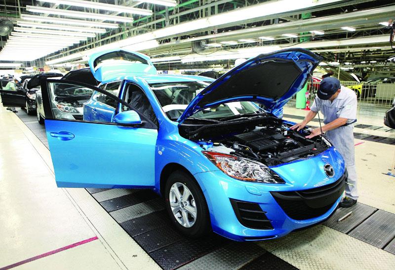 Завод Mazda