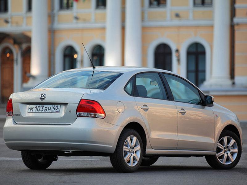 2011 Volkswagen Polo седан