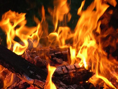 Пожар, огонь, костер