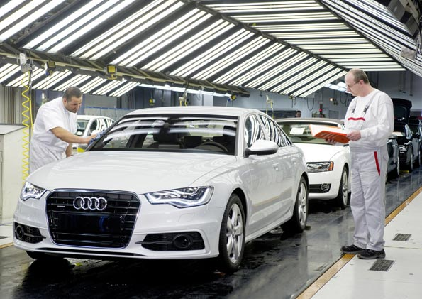 Завод Audi