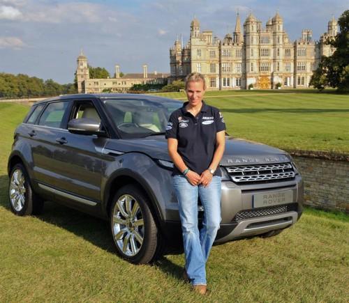 Range Rover Evoque, Зара Филлипс