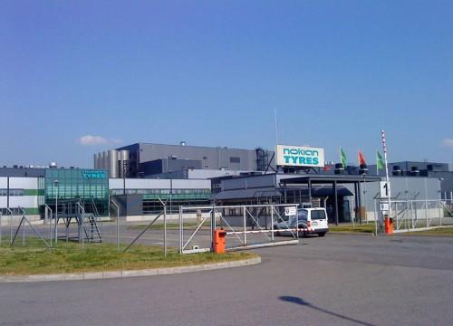 Завод Nokian Tyres, Всеволожск