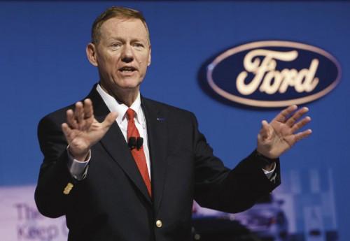 Алан Малалли, Ford CEO