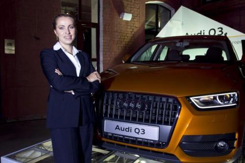 Елена Смирнова, глава Audi Russia