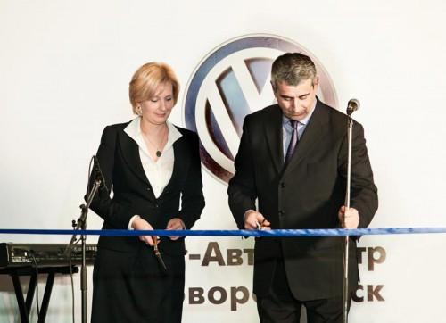 Открытие автосалона «Юг-Авто Центр Новороссийск»
