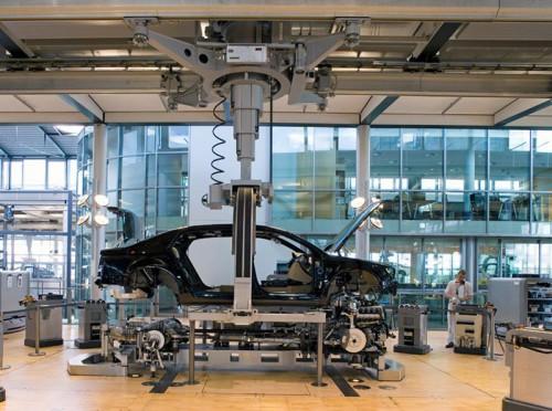 Стеклянная мануфактура Volkswagen