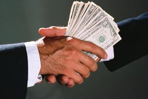 Взятка, коррупция