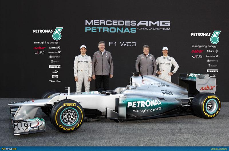 Презентация Mercedes AMG Petronas F1 W03
