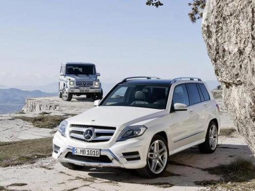 2013 Mercedes-Benz GLK-class, 2013 Mercedes-Benz G-class