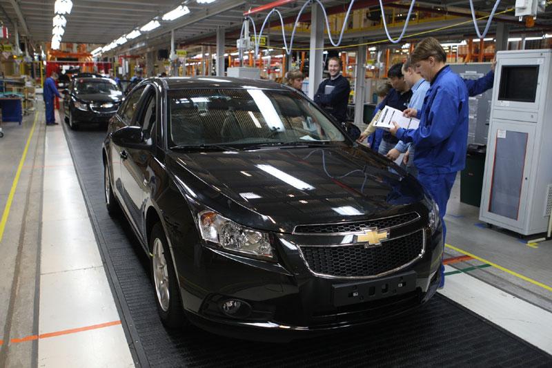 Завод GM, Санкт-Петербург