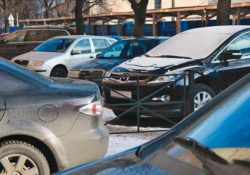 Парковка, автомобили