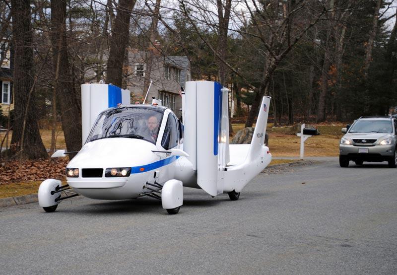 Terrafugia Roadable Aircraft