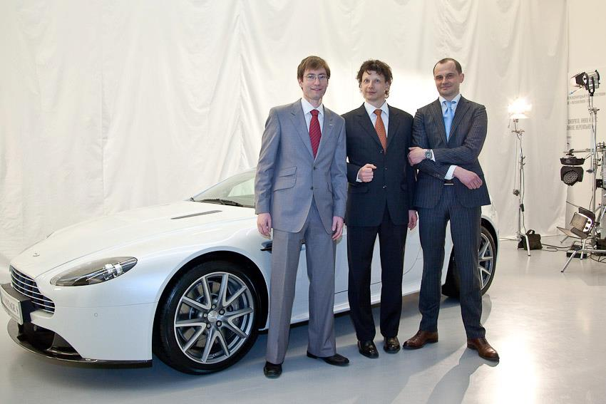Презентация Aston Martin V8 Vantage S