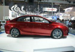 Toyota Dear Qin concept sedan