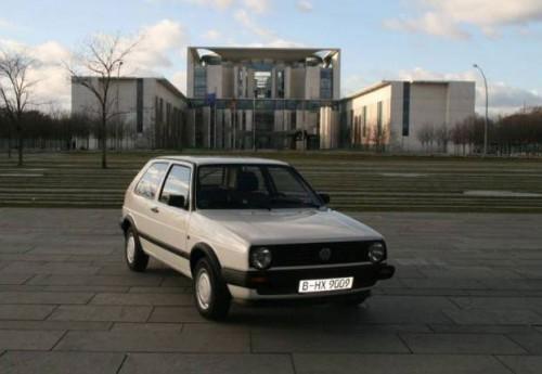 Volkswagen Golf, Ангела Меркель