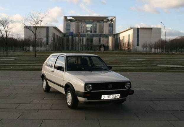 Volkswagen Golf, Ангела Меркель