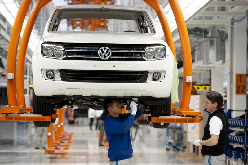 Завод Volkswagen, Германия