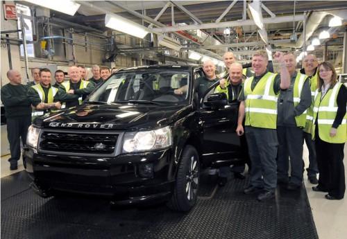 300-тысячный Land Rover Freelander 2