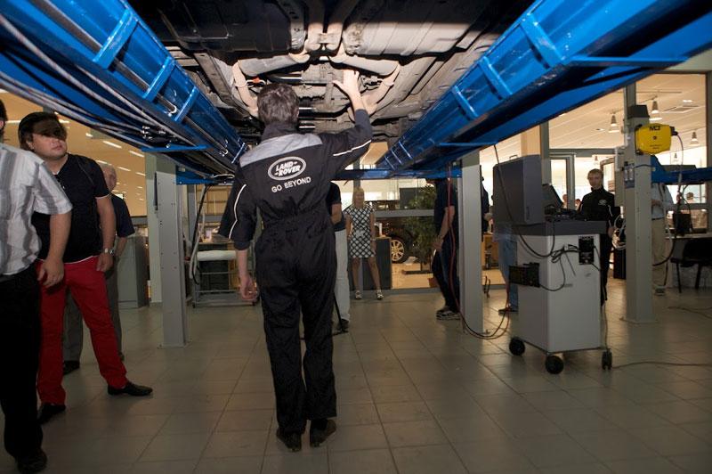 Сервис Land Rover