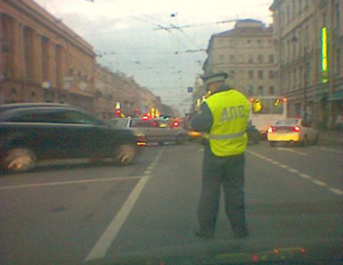 Инспектор ДПС (ГИБДД)