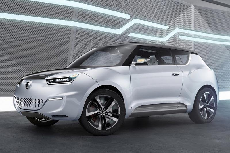SsangYong e-XIV Concept Crossover