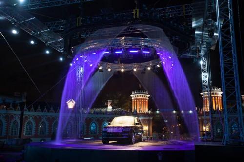 Премьера 2013 Range Rover в Москве