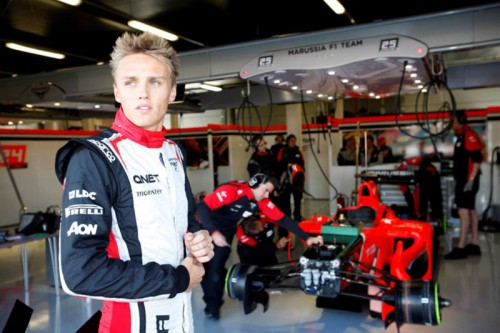 Макс Чилтон, marussia F1 Team