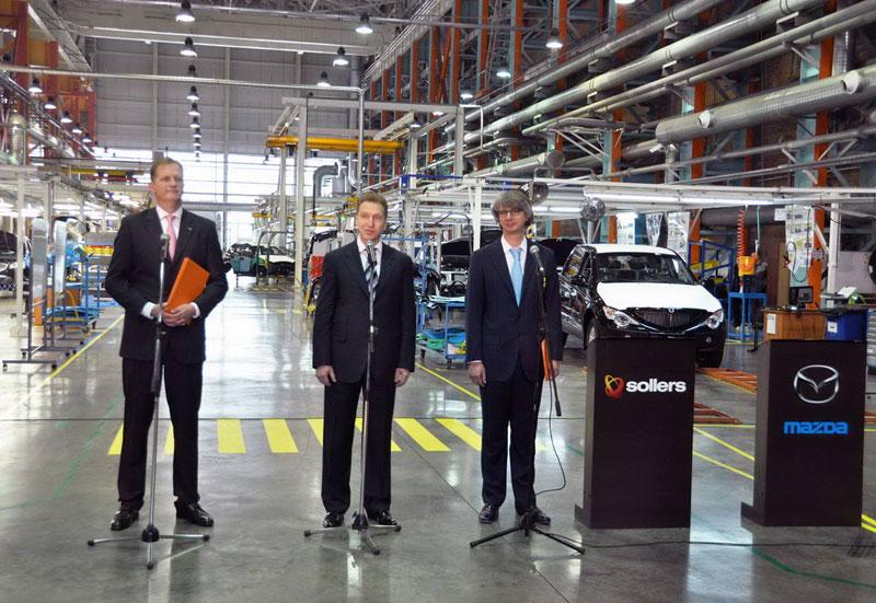 Церемония открытия Mazda Sollers Manufacturing Rus