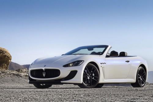 2013 Maserati GranCabrio MC Stradale