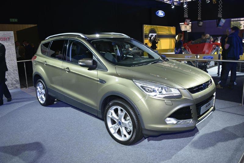ford kuga цены на март 2014