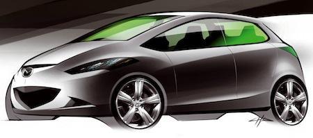Mazda1 (набросок)