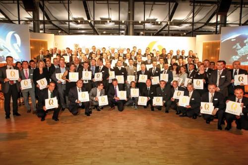 Премия Volkswagen Service Quality Award