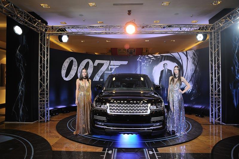 Range Rover, агент 007