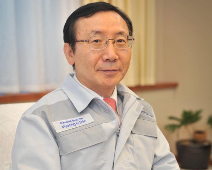 Шин Мён Ки, гендиректор «Хендэ Мотор Мануфактуринг Рус»