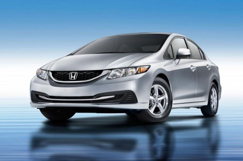 2013 Honda Civic седан (US)