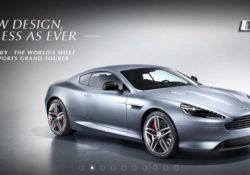 Сайт Aston Martin