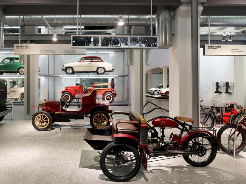 Музей Skoda, Млада-Болеслав, Чехия