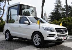 Папомобиль Mercedes-Benz M-class
