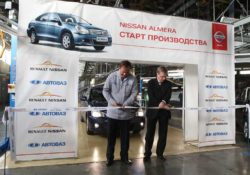 Старт производства Nissan Almera на АВТОВАЗе